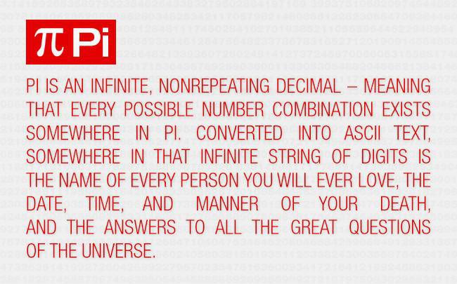Pi är ett mystiskt tal